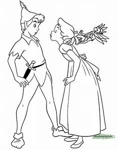 Peter Pan Coloring Pages Disneyclipscom