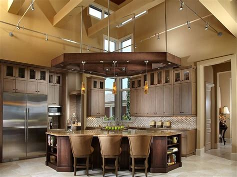 shaped kitchen islands 49 contemporary high end wood kitchen designs