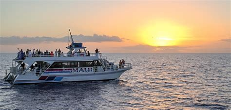 Catamaran Dinner Cruise Maui by Maui Sunset Dinner Cruise Romantic Sunset Cruises In Maui