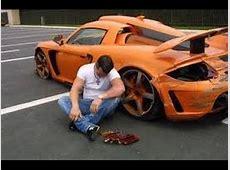 Autounfälle gefährlich oder lächerlich Fällen Autofahren