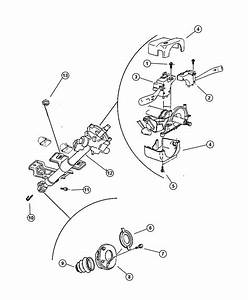 2000 Jeep Cherokee Switch  Intermittent Wiper  Right  With