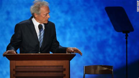 obamas empty chair wsj eastwood the empty chair and the speech everyone s