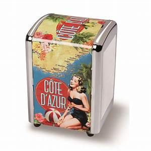 Cote Et Vintage : distributeur de serviettes c te d 39 azur natives d co r tro et vintage provence ar mes tendance sud ~ Maxctalentgroup.com Avis de Voitures