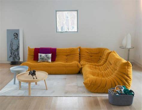les beaux décors avec le canapé togo légendaire ligne