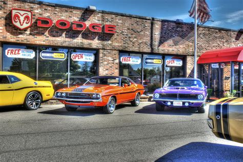 muscle car dealership photograph by doray