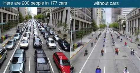 what the world looks like without cars is all you need to see to give up one of yours