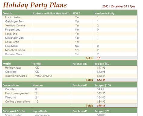 event schedule template word excel