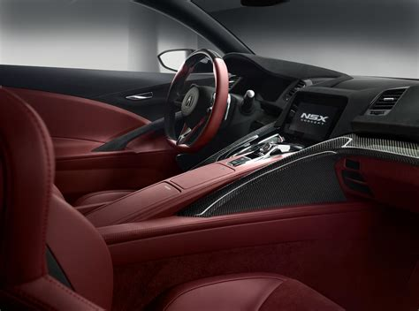 Acura Nsx Concept Gets Interior In Detroit