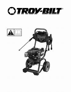 Troy-bilt 2800 Psi Pressure Washer User U0026 39 S Manual