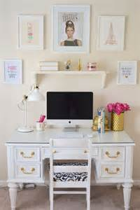 25 best ideas about white desks on pinterest chic desk