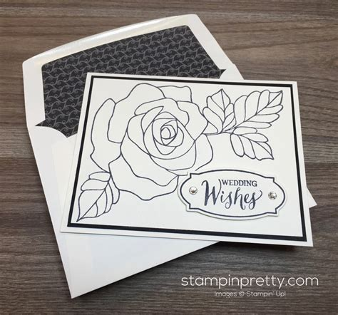 Wedding Decorations Catalogs Free by Simple Rose Wonder Wedding Card Stampin Pretty