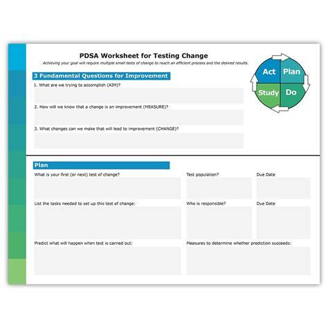 pdsa worksheet interactive pdsa worksheet atom alliance