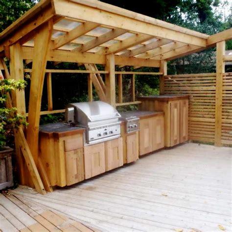 Shed Roof Design Outdoor Kitchen Modern Home Ideas Garden