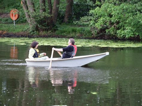 Punt Boat Plans by We Launch Our Phil Bolger Auray Punt Intheboatshed Net