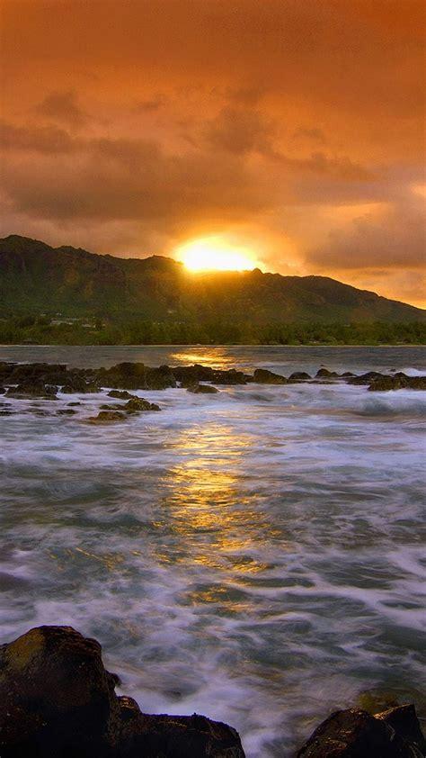 scotland beach sunset iphone   hd wallpaper hd