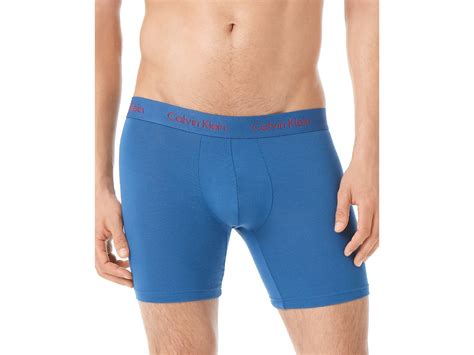 Calvin Klein Micro Modal Boxer Brief In Blue For Men