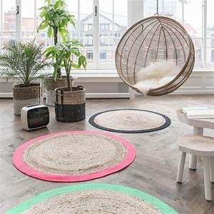 Tapis En Jute Ikea : le petit tapis rond belle solution pour les petits ~ Teatrodelosmanantiales.com Idées de Décoration