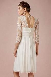 robe de mariee courte a manche dentelle boheme mi longue With robe de mariée mi longue