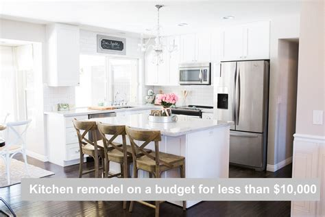 Kitchen Remodel On A Budget For Under ,000 -sharing Our