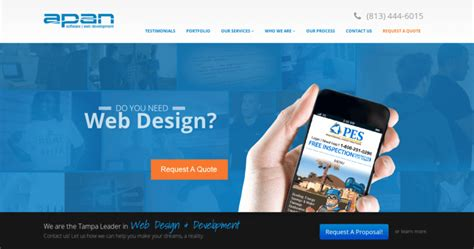 Best Web Design Company by Apan Software Top Web Design Businesses 10 Best Design