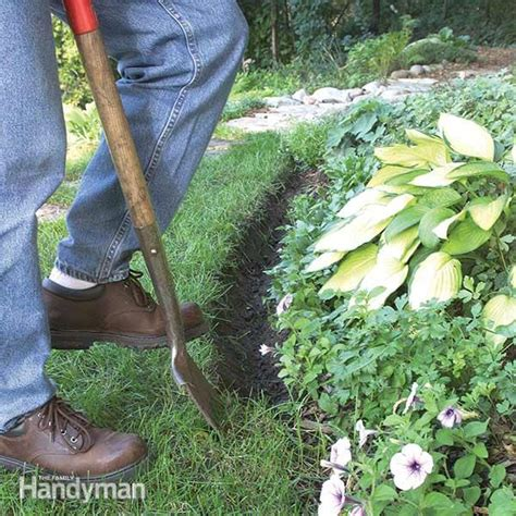 landscape edging  family handyman
