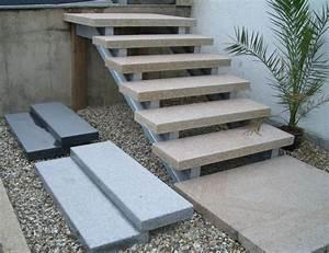 Treppenstufen Außen Beton : treppenstufe stufe aussen granit gelb geflammt 125x35x8cm ~ A.2002-acura-tl-radio.info Haus und Dekorationen