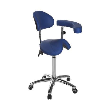 tabouret ergonomique s 5634 ecopostural base chrom 233 e avec accoudoir