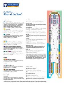 Allure Of The Seas Deck Plan allure of the seas deck plans
