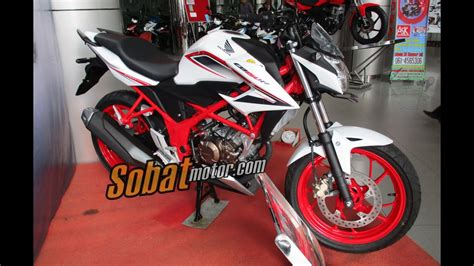 all new honda cb150r streetfire special edition putih speedy white sobatmotor youtube