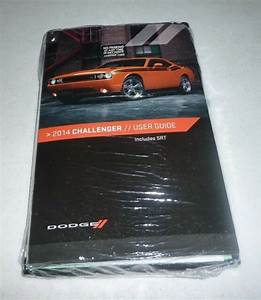 2014 Dodge Challenger User Guide Owners Manual Set Dvd 14
