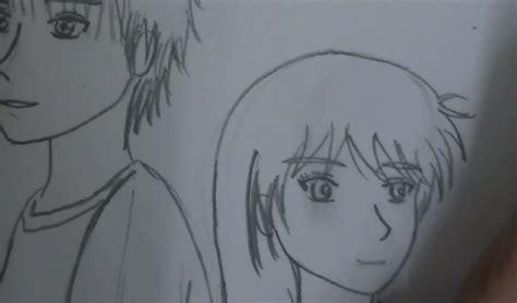 anime couple draw ep2 drawing an anime couple youtube