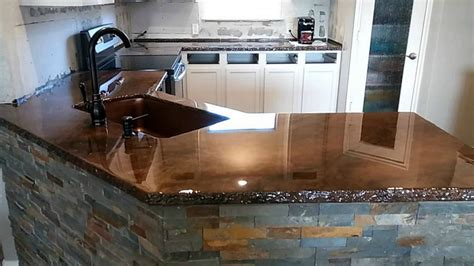 tile kitchen countertops pros and cons concrete countertops pros and cons networx 9466