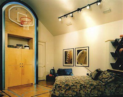 Cool Basketball Bedroom!  Design Dazzle