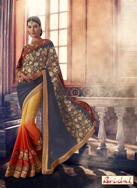 best indian bridal saree designs for weddings in 2018