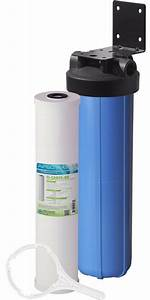 Apec 20 U0026quot  Big Blue Whole House Water Filtration System With