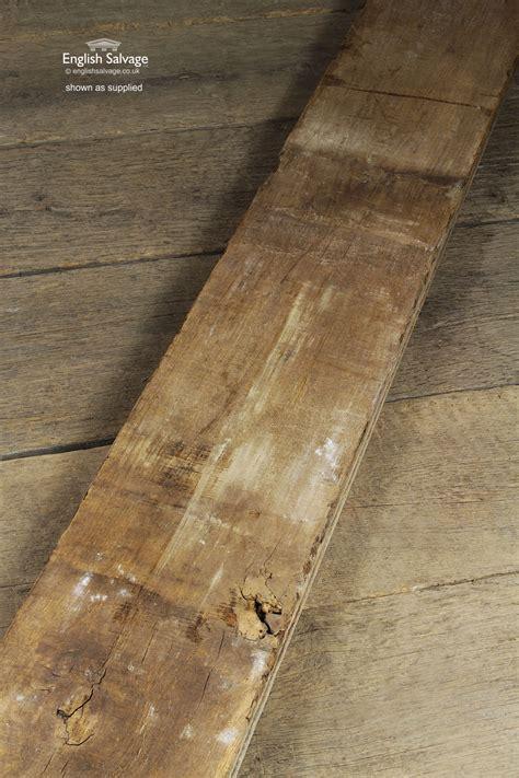 salvaged tongue  groove oak floorboards