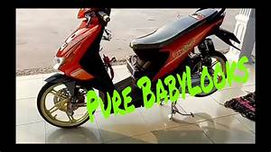 Modifikasi Honda Beat Karbu Pure Babylooks 2018