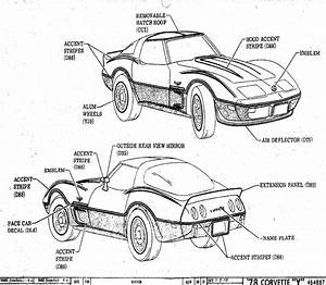 Corvette Drawing At Getdrawings