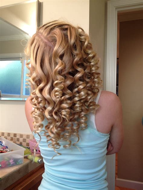 For ringlet curls the shorter, the barrel size is the beautiful ringlets you may get. Pin by Morgan on Hair | Gorgeous hair, Ringlet curls, Hair ...