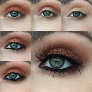 Maquillage Yeux Tuto : comment maquiller les yeux verts 50 astuces en photos et vid os ~ Nature-et-papiers.com Idées de Décoration