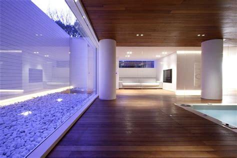 luxury indoor pool house design  jm architecture
