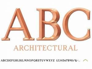 architectural plastic letters injection molded With molded plastic letters