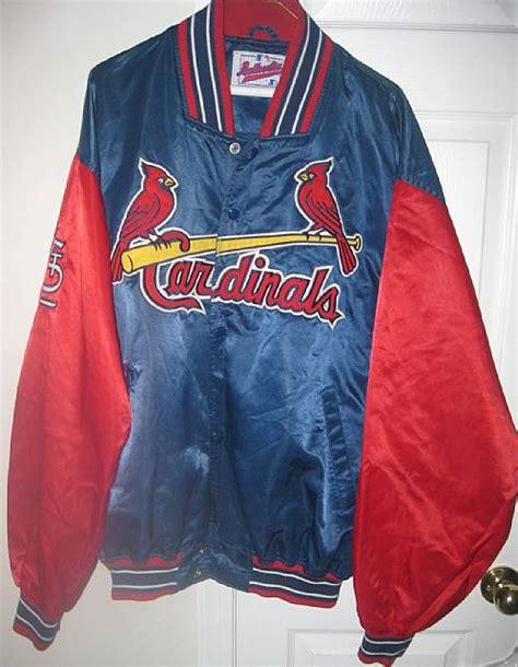 mlb st louis cardinals jacket xxl diamond collection