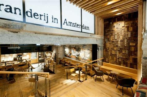 Starbucks Concept Store In Amsterdam by 銀行の金庫を改装して作られたスターバックス Starbucks Concept Store In