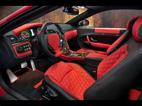 maserati sports car interior 2011 mansory maserati granturismo interior cars