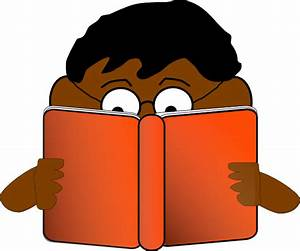 Best Student Reading Clipart Clipartion