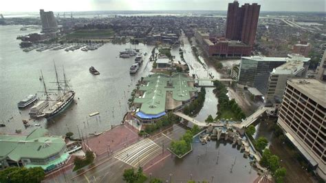 hurricane isabel struck baltimore  years