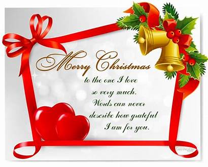 Christmas Merry Wife Words Happy Greetings Messages
