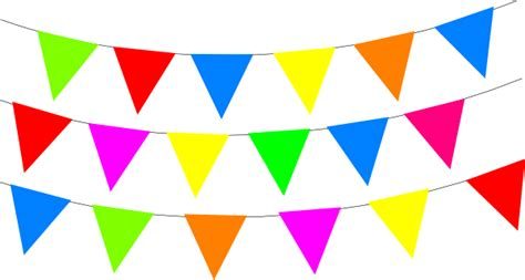 bunting border clipart    clipartmag