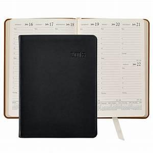 Agenda Planner 2018 : 2018 desk diary traditional leather agenda planner graphic image ~ Teatrodelosmanantiales.com Idées de Décoration